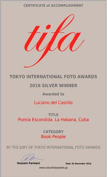 tokyo international foto awards